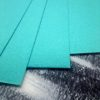 Бирюзовый картон с эффектом металлик