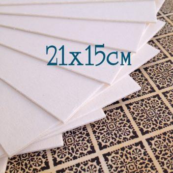 Пивной картон 21х15 см