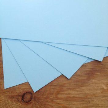 Кардсток пастельный голубой 30х20см