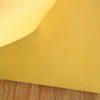 Желтый кожзаменитель с тиснением под кожу