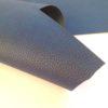 Синий кожзаменитель с крупным тиснением под кожу