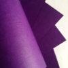 Бумага с тиснением Лён фиолетовая