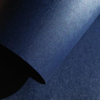 Бумага темно-синяя металлизированная с тиснением Шелк