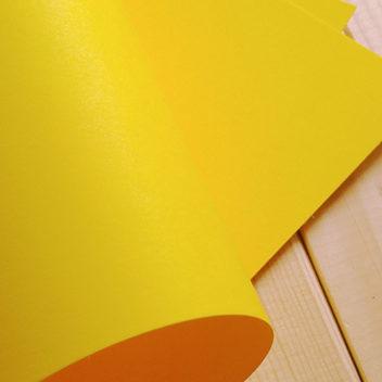 Кардсток интенсивного ярко-желтого цвета 30х20см
