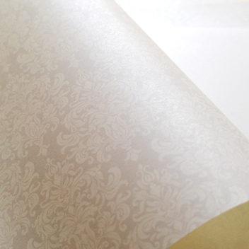 Эксклюзивная жемчужная свадебная бумага Snow White
