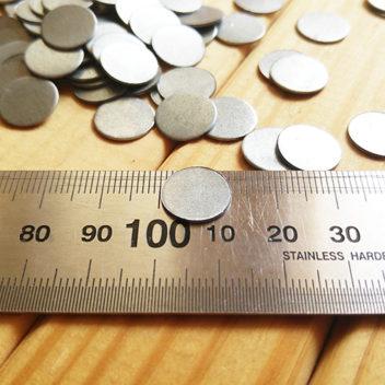Ответная часть к магнитам диаметром 12мм