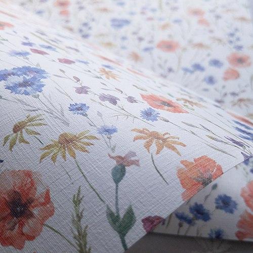 Эксклюзивная текстурная свадебная бумага Poppy