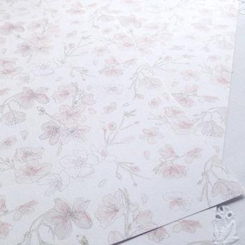 Эксклюзивная текстурная свадебная бумага Sakura