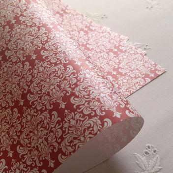 Эксклюзивная красная свадебная бумага Aurora Red