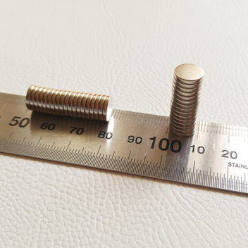 Магниты плоские круглые 9х1,5мм