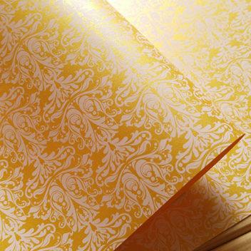 Эксклюзивная золотая свадебная бумага Gold Wedding
