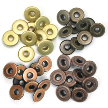 WARM METAL-EYELETS WIDE