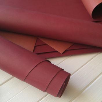 Рубиновый переплетный кожзаменитель