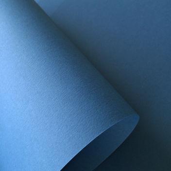 Матовый тёмно-голубой кардсток
