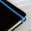 Резинка голубая для блокнотов 6мм 1м