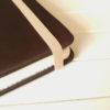 Резинка бежевая для блокнотов 8мм 1м