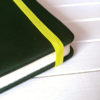 Резинка лимонно-желтая для блокнотов