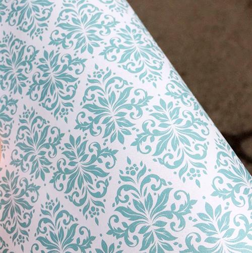 Эксклюзивная бирюзовая свадебная бумага Turquoise