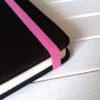 Резинка ярко-розовая для блокнотов 8мм