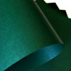 Бумага с тиснением Лён тёмно-зеленая 30х20см