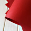 Бумага с тиснением Лён красная 30х20см