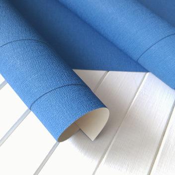 Переплетный бумажный материал Светло-синий под холст 50х35см