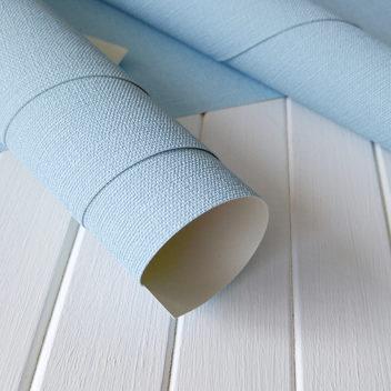 Переплетный бумажный материал Голубой под холст 50х35см