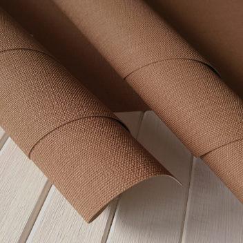 Переплетный бумажный материал Светло-коричневый под холст 50х35см