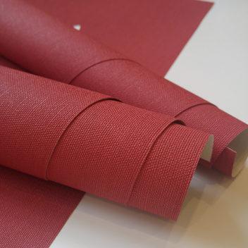 Переплетный бумажный материал Красный под холст