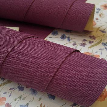 Переплетный бумажный материал Фиолетовый под холст