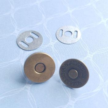 !!!NEW!!! Тонкая магнитная застежка (бронза) 14мм