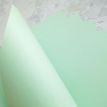 Матовый светло-зеленый кардсток