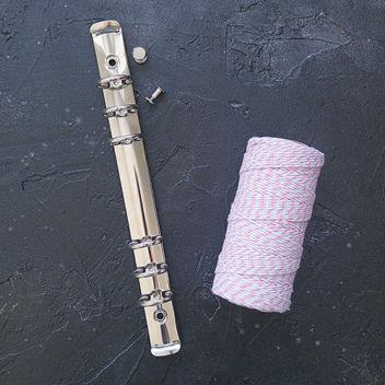 Кольцевой механизм с комплектом крепления серебряный А5 22см