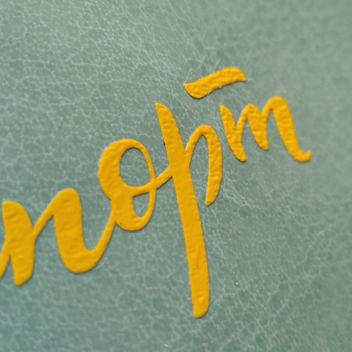 Матовый термотрансфер желтый