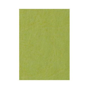 Глянцевый фисташково-зеленый переплетный кожзам