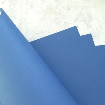 Матовый синий кардсток
