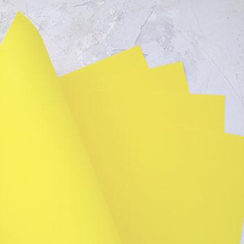 Матовый ярко-желтый кардсток