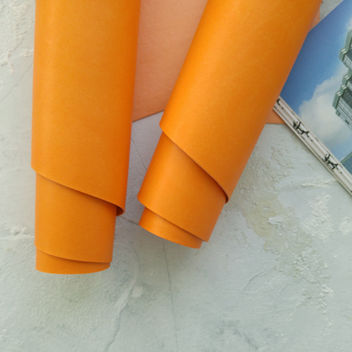 Апельсиновый переплетный кожзаменитель