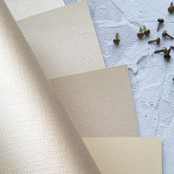 Бумага металлизированная с тиснением Холст Золотая