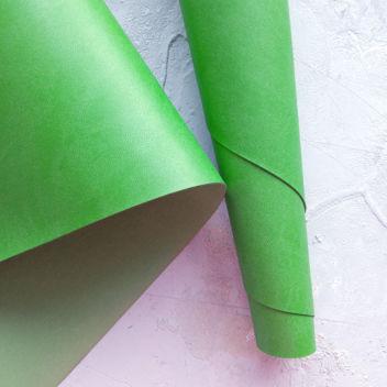 Зелёно-травяной переплетный кожзаменитель