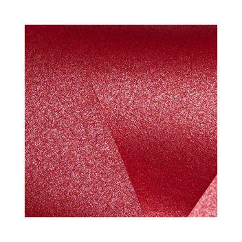 Кардсток перламутровый Императорский красный