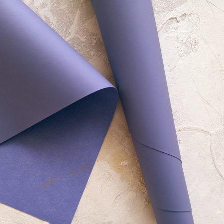 Переплетный кожзам с поверхностью ТАЧ пыльно-фиолетовый