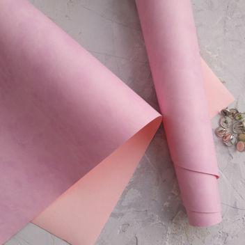 Лилово-розовый переплетный кожзаменитель