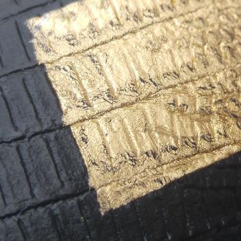 Супертонкая термотрансферная пленка Золото 25х25см (Франция)
