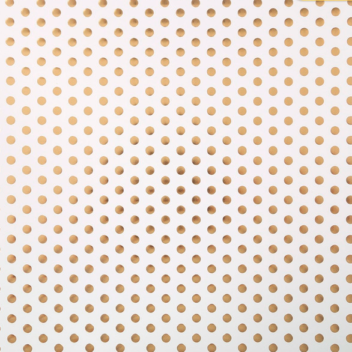 Бумага для скрапбукинга с фольгированием «Крупный горох» 30.5×30.5см, 250 г/м