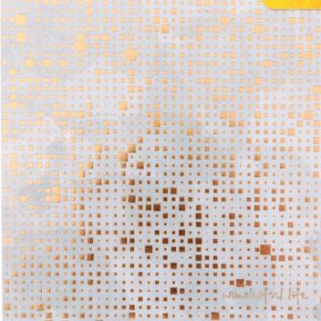 Бумага для скрапбукинга с фольгированием «Великолепная жизнь», 15.5 × 15.5 см, 250г/м
