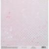 Бумага для скрапбукинга с голографическим фольгированием «Нежная нежность», 20 × 21.5 см, 250 г/м