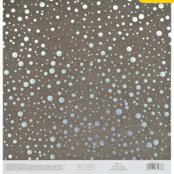 Бумага для скрапбукинга с голографическим фольгированием «Сияние ночи», 20 × 21.5 см, 250 г/м