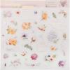 Чипборд с фольгированием на клеевой основе «Цветочная галерея», 30.5 × 30.5 см