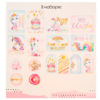 Карточки для скрапбукинга с высечками «В стране единорогов», 11 × 16 см